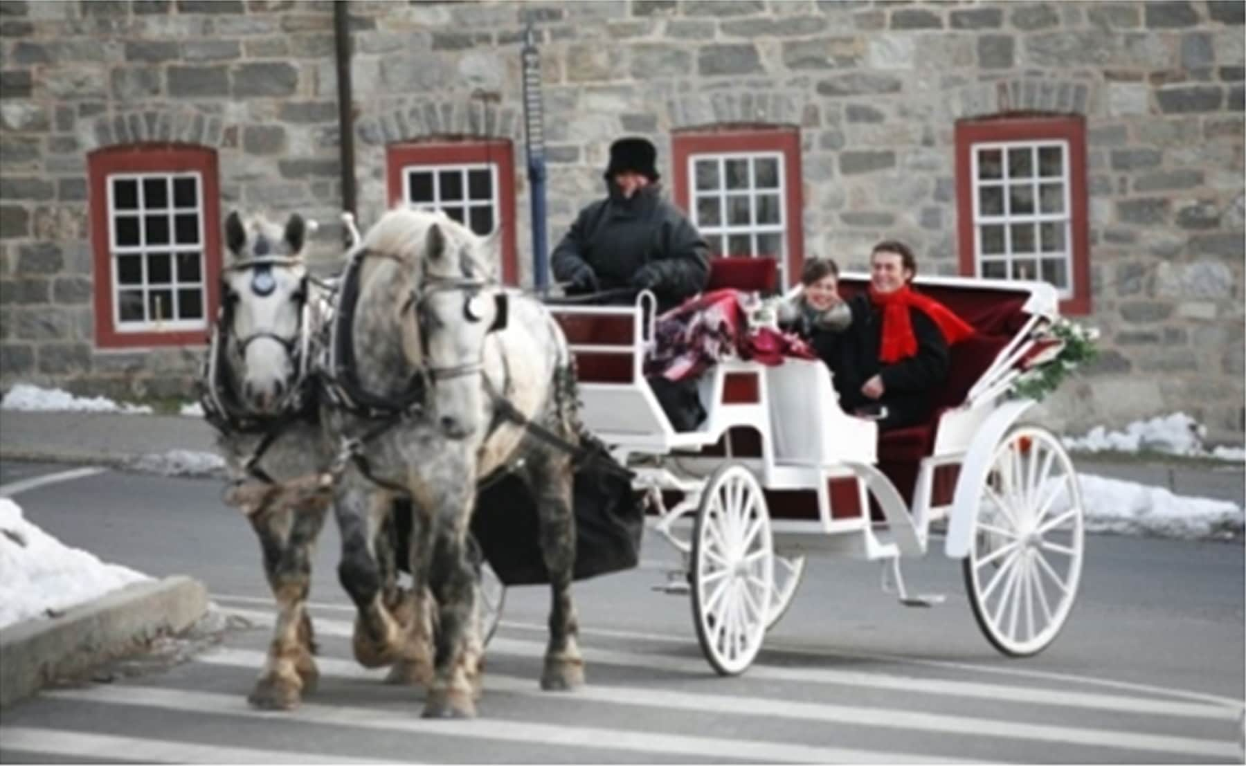 Carriage Rides In Christmas City Historic Bethlehem Museums Sites